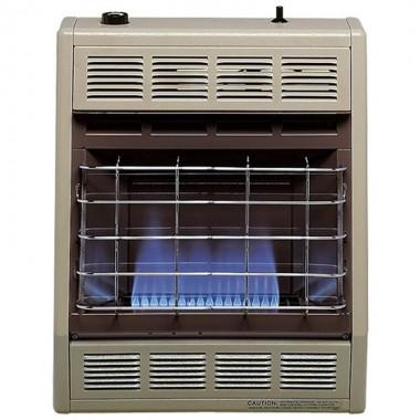 Calefactor Interior Llama Azul  02