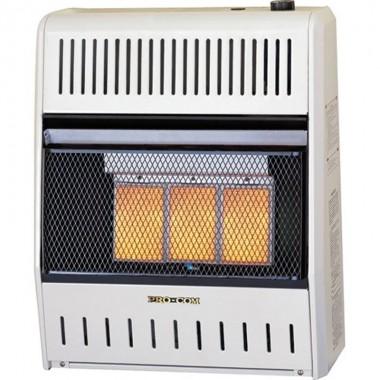 Calefactor Interior Llama Azul  - 06