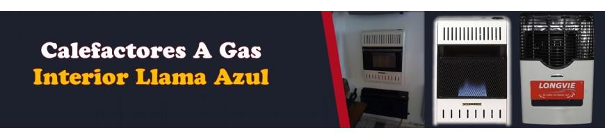 Venta de Calefactores Uso Interior Llama Azul Gas Natural o Propano
